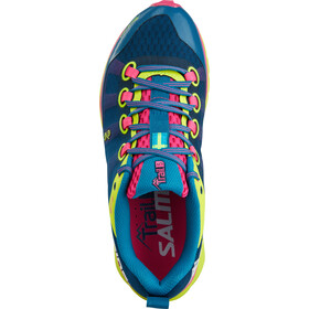 Salming W's Trail 5 Shoes Blue/Flou Yellow